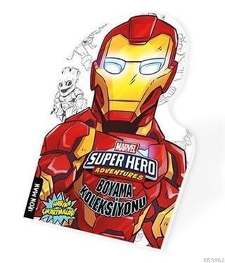 İron Man - Marvel Süper Kahramanlar Boyama Koleksiyonu