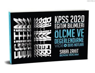 2020 KPSS Eğitim Bilimleri Ölçme ve Değerlendirme Video Ders Notları Benim Hocam Yayınları
