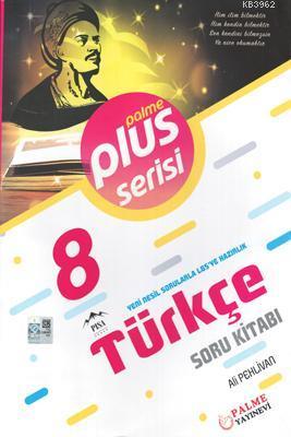 Palme Yayınları 8. Sınıf LGS Türkçe Plus Serisi Soru Kitabı Palme
