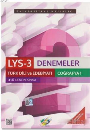 LYS-3 Denemeler Türk Dili ve Edebiyatı Coğrafya-1 4'lü Deneme Sınavı