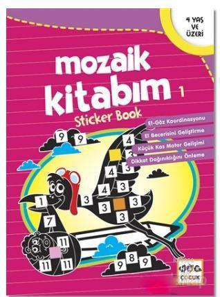 Mozaik Kitabım 1; 4 yaş ve üzeri