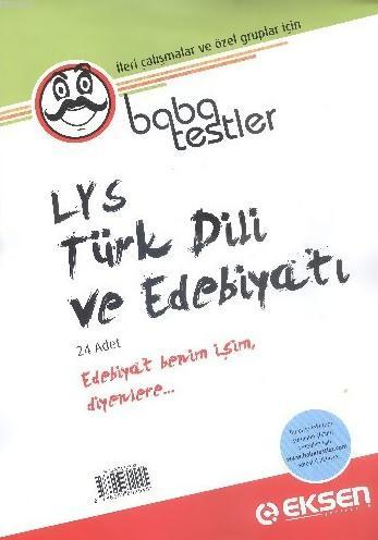 LYS Türk Dili ve Edebiyatı Baba Testler; 24 Adet Yaprak Test