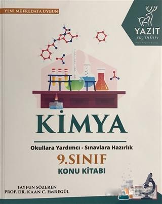 2019 9. Sınıf Kimya Konu Kitabı; Okullara Yardımcı - Sınavlara Hazırlık