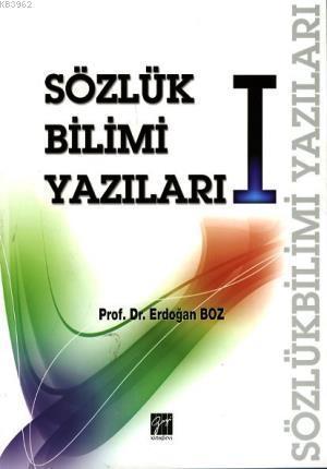 Sözlük Bilimi Yazıları I