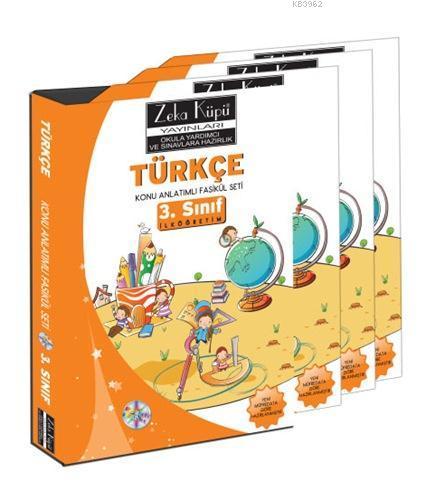 3. Sınıf Türkçe Konu Anlatımlı Soru Bankası; 8 Fasikül