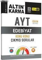Altın Karma Yayınları AYT Edebiyat Konu Konu Çıkmış Sorular Altın Karma