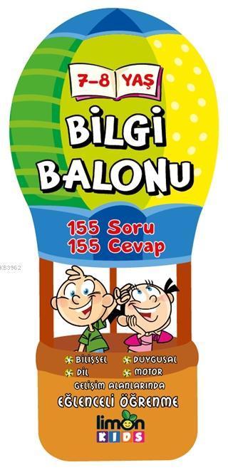 7-8 Yaş Bilgi Balonu 155 Soru - 155 Cevap