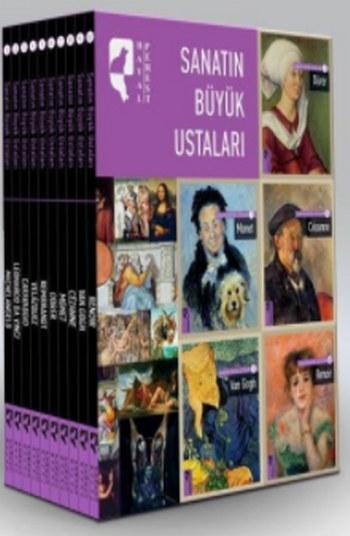 Sanatın Büyük Ustaları (10 Kitap Takım)