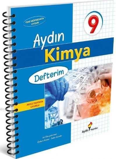 Aydın Yayınları 9. Sınıf Kimya Defterim Aydın