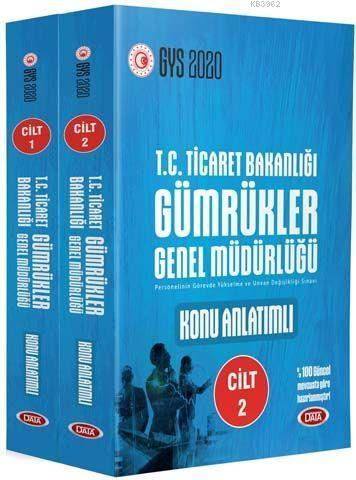 Data Yayınları GYS T.C. Ticaret Bakanlığı Gümrükler Genel Müdürlüğü Konu Anlatımlı Hazırlık Kitabı 1