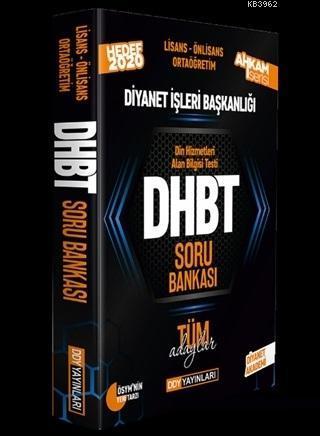 2020 DHBT Ahkam Serisi Tüm Adaylar Soru Bankası