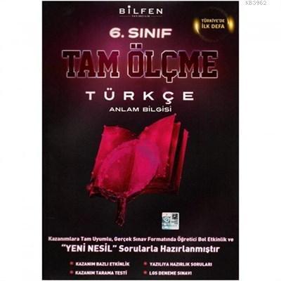 Bilfen Yayıncılık 6 Sınıf Türkçe Tam Ölçme Yeni