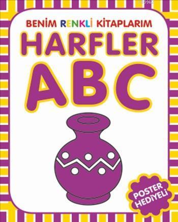 Harfler; Benim Renkli Kitaplarım