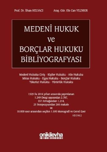 Medeni Hukuk ve Borçlar Hukuku Bibliyografyası
