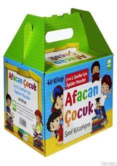 Afacan Çocuk Sınıf Kitaplığı Seti (40 Kitap Takım); 2. ve 3. Sınıflar İçin