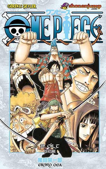 One Piece Cilt 39: Çekişme