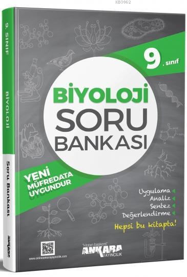 Ankara Yayınları 9. Sınıf Biyoloji Soru Bankası Ankara