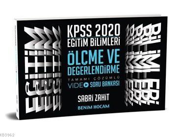 2020 Eğitim Bilimleri Ölçme ve Değerlendirme Video Soru Bankası Benim Hocam Yayınları
