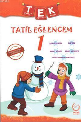 Palme Yayınları 1. Sınıf Tek Tatil Eğlencem Seti Palme