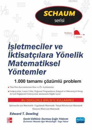 İşletmeciler ve İktisatçılara Yönelik Matematiksel Yöntemler