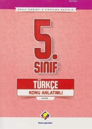 5. Sınıf Türkçe Konu Anlatımlı