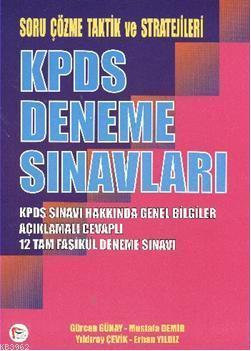 KPDS Deneme Sınavları; Soru Çözme Taktik ve Stratejileri