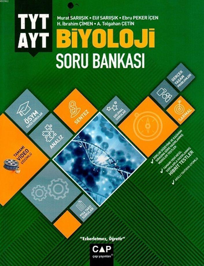 Çap Yayınları TYT AYT Biyoloji Soru Bankası Çap