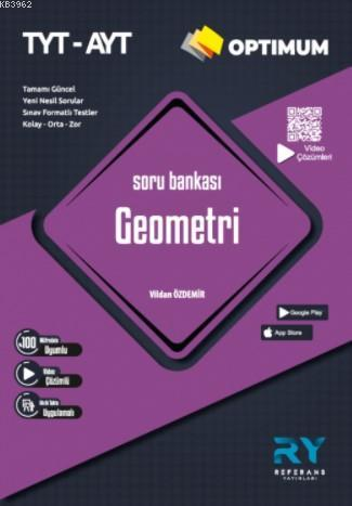 Referans Optimum TYT-AYT Geometri Soru Bankası Video Çözümlü 2021