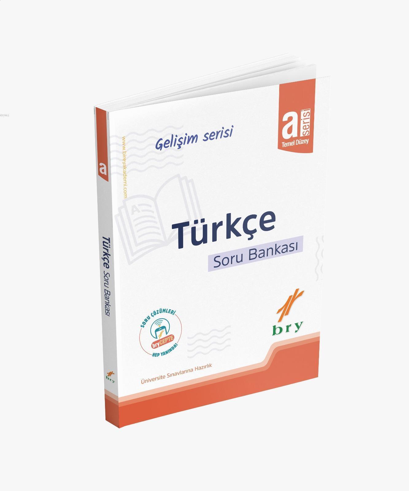 BRY Gelişim Serisi - Türkçe Soru Bankası A