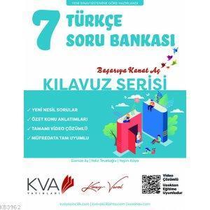 KVA Kılavuz Serisi 7.Sınıf Türkçe Soru Bankası