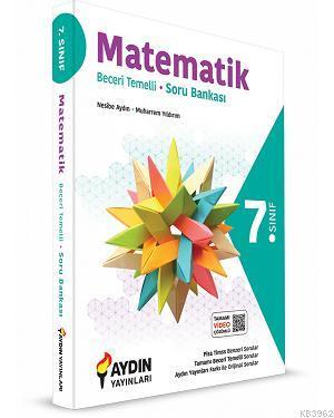 Aydın Yayınları 7. Sınıf Matematik Beceri Temelli Tamamı Video Çözümlü Soru Bankası Aydın