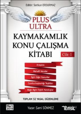 Plus Ultra Kaymakamlık Konu Çalışma Kitabı - Cilt 1