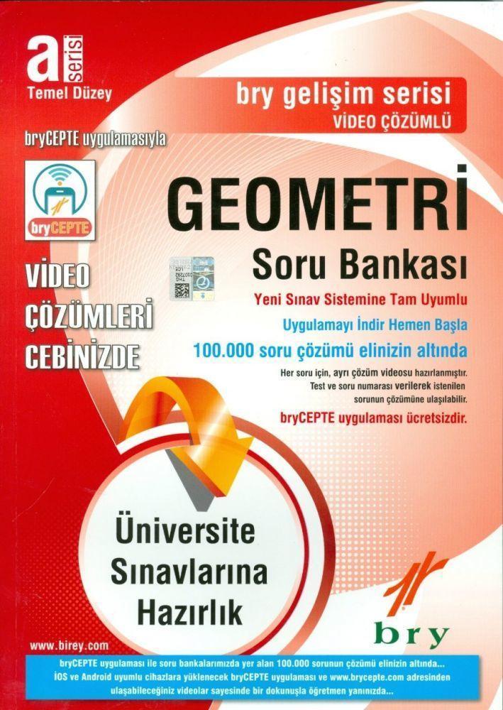 A Serisi Geometri Video Çözümlü Temel Düzey Soru Bankası Gelişim Serisi