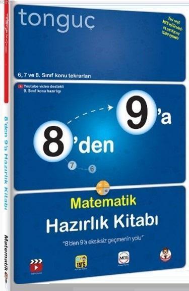 Tonguç 8'den 9'a Matematik Hazırlık Kitabı
