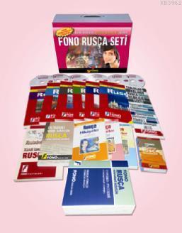 Fono Rusça Seti (15 Kitap + 6 Cd)