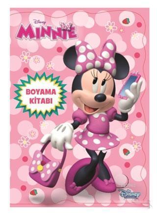Disney Minnie Boyama Kitabı