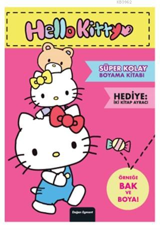 Hello Kitty - Süper Kolay Boyama Kitabı