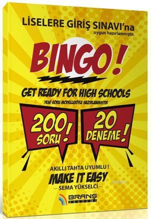 8. Sınıf Lgs İngilizce 20 Deneme Bingo