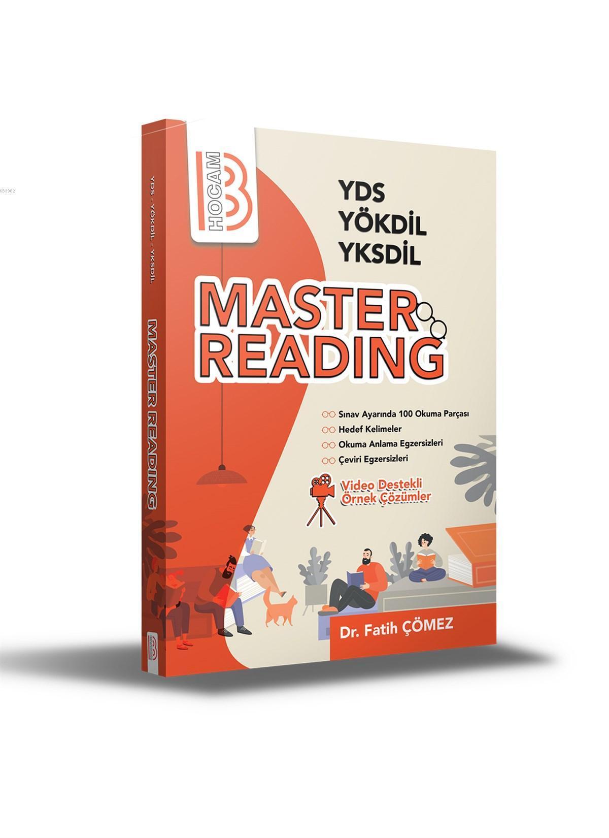 YDS - YÖKDİL - YKSDİL Master Reading Benim Hocam Yayınları