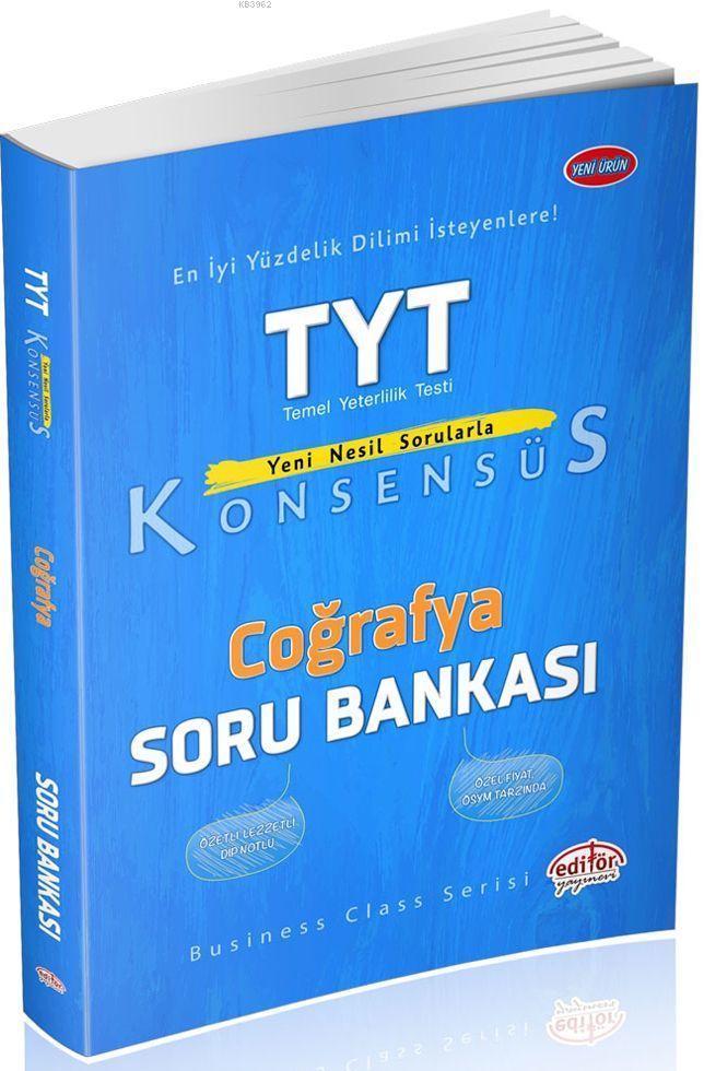 TYT Konsensüs Coğrafya Soru Bankası