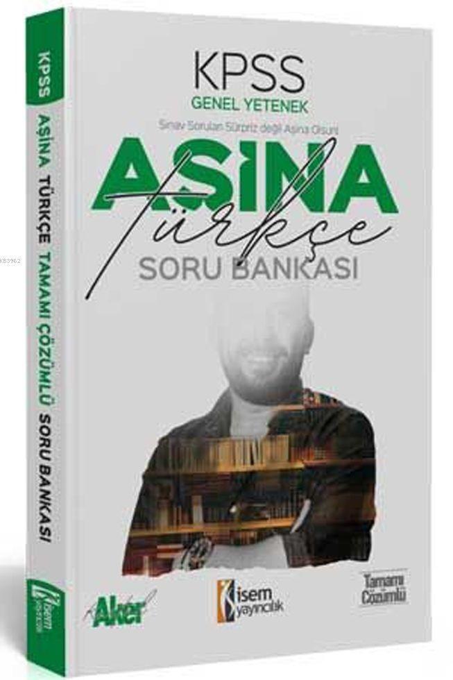 İsem Yayınları KPSS Türkçe Aşina Soru Bankası