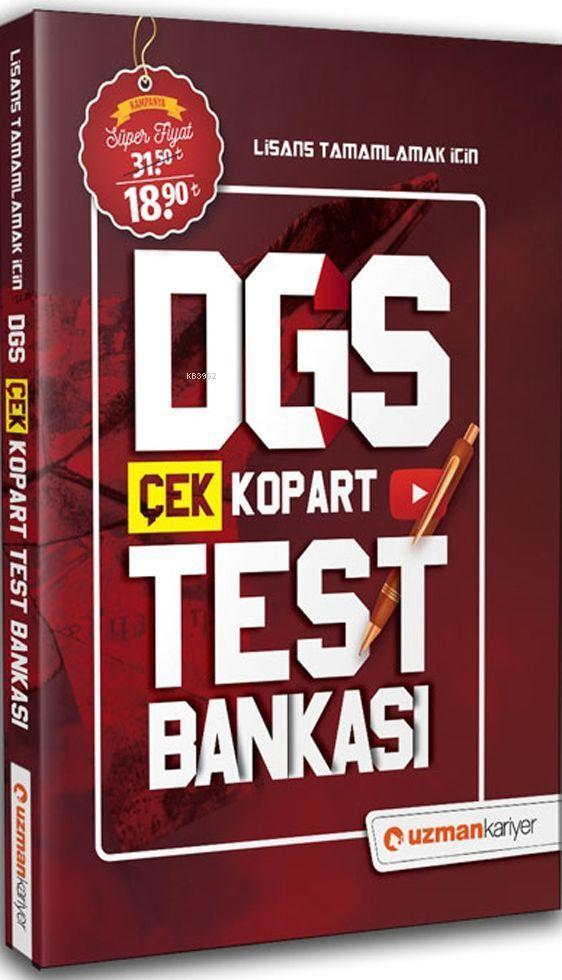 2020 DGS Çek Kopart Test Bankası