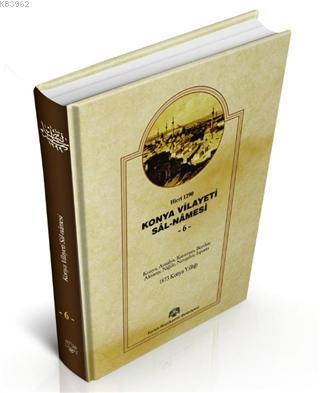 Konya Vilayeti Sal-Namesi - 6