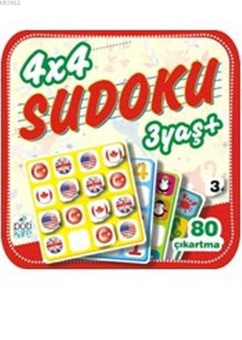 4x4 Sudoku 3yaş+