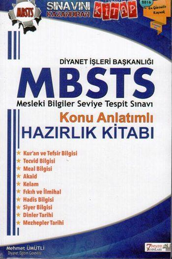 MBSTS Konu Anlatımlı Hazırlık Kitabı 2016