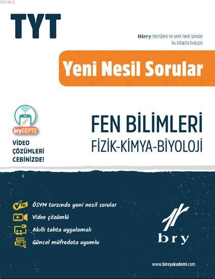 Birey Yayınları TYT Fen Bilimleri Video Çözümlü Soru Bankası
