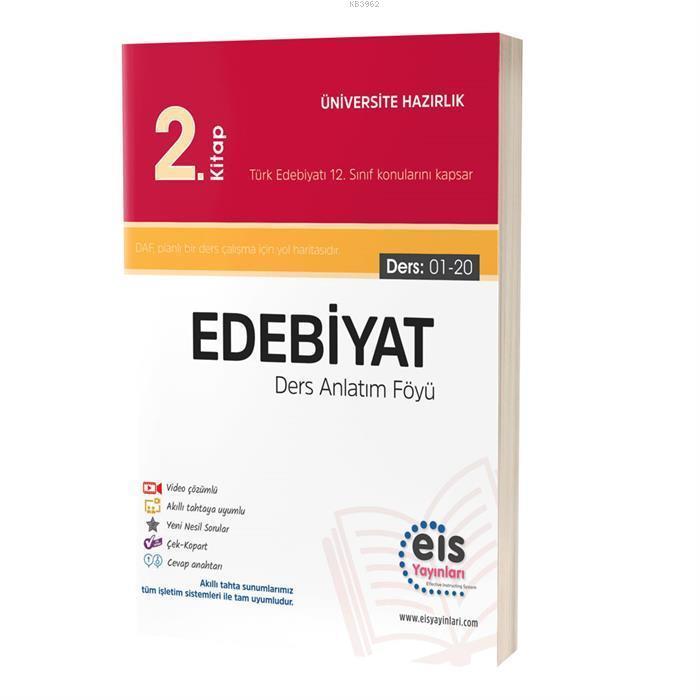 EIS - YKS Ders Anlatım Föyü Edebiyat 2.Kitap
