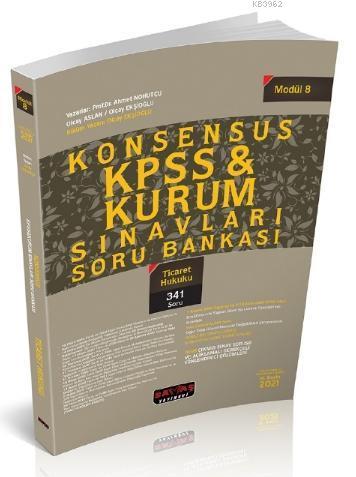 Konsensus KPSS Ticaret Hukuku Soru Bankası