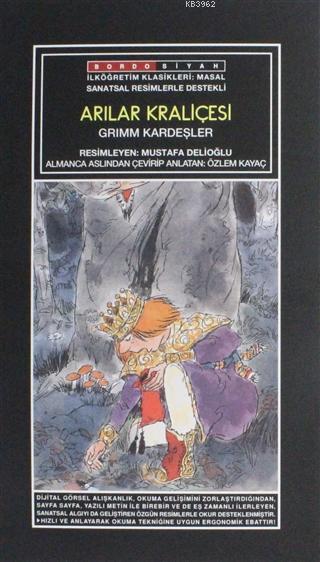 Sanatsal Resimli Arılar Kraliçesi; Grimm Masalları