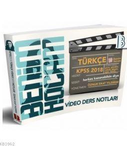 2018 KPSS Türkçe Video Ders Notları